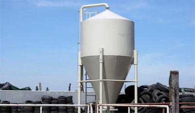 fabrication silo stockage