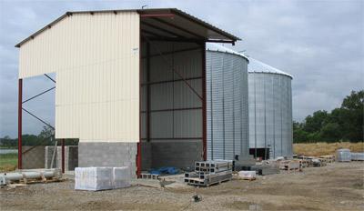 stockage exterieur agricole