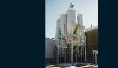 stockage silos